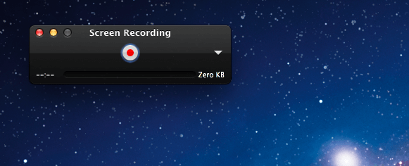 registrare lo schermo su Mac