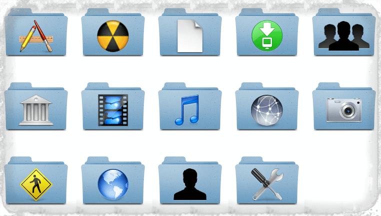 icone personalizzate su Mac OS X
