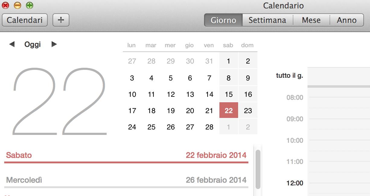 aggiungere gli eventi di Facebook al calendario di Mac