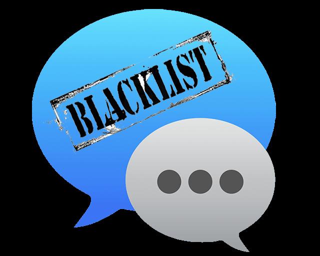 bloccare i contatti iMessage su Mac