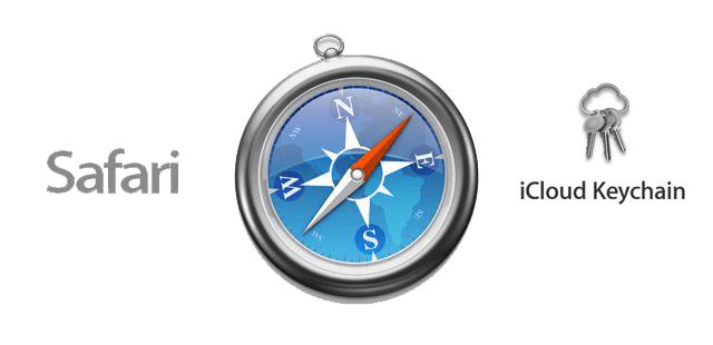 memorizzare le password dei siti web nel portachiavi iCloud