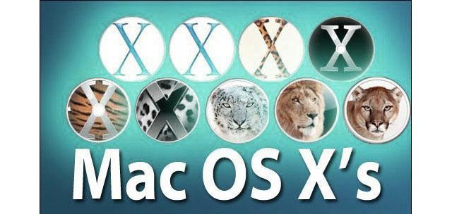 conoscere la versione di Mac OS X