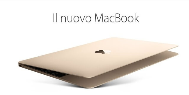 Identificare modello di MacBook