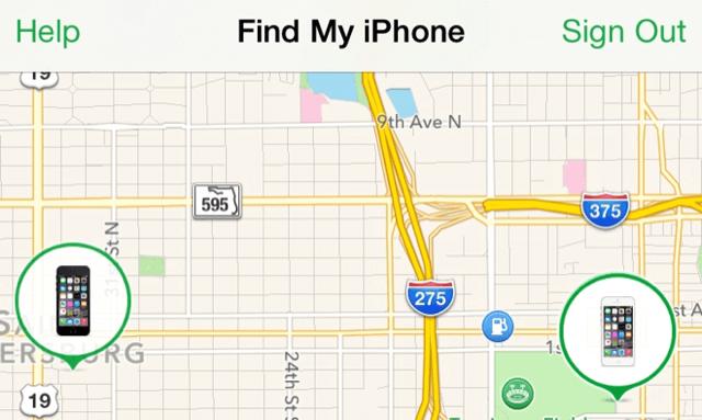 iPhone invia Ultima Posizione