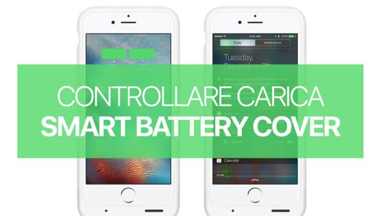 Controllare carica Apple Smart Battery Case da iPhone