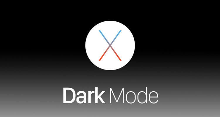 modalità grafica dark os x