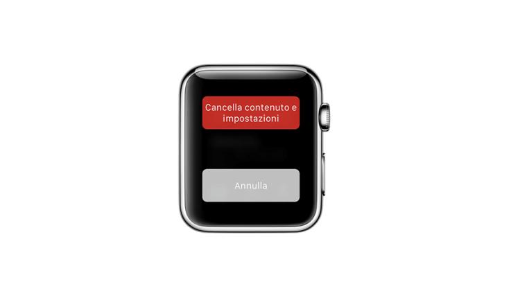 ripristino apple watch, senza iphone