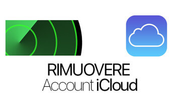 Eliminare Account iCloud da iPhone