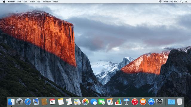Seleziona il Desktop nella finestra di dialogo Apri o Salva