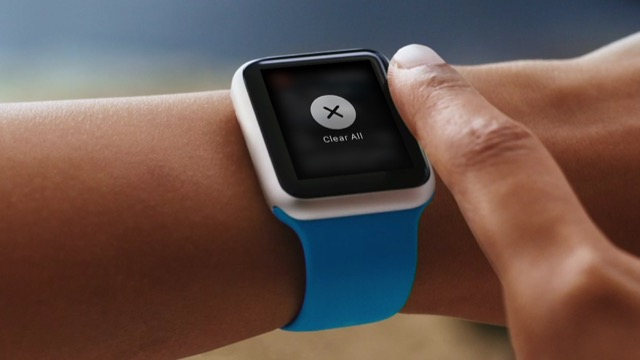 Cancellare notifiche su Apple Watch