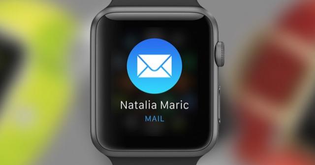 Leggere la posta su Apple Watch