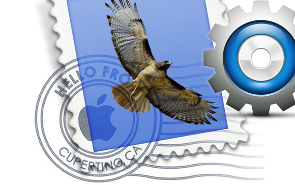 Ricostruire casella Mail OS X