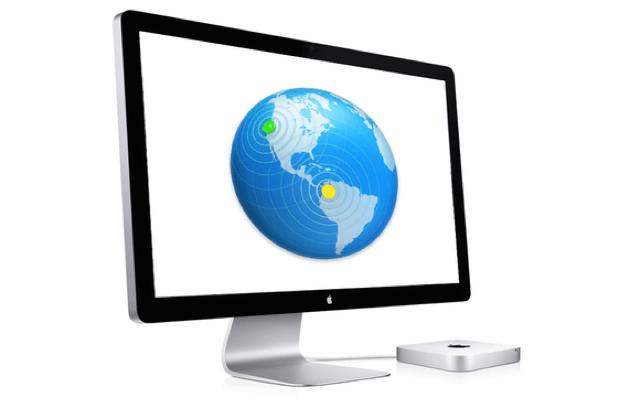 OS X Server su Mac, configurare la Rete