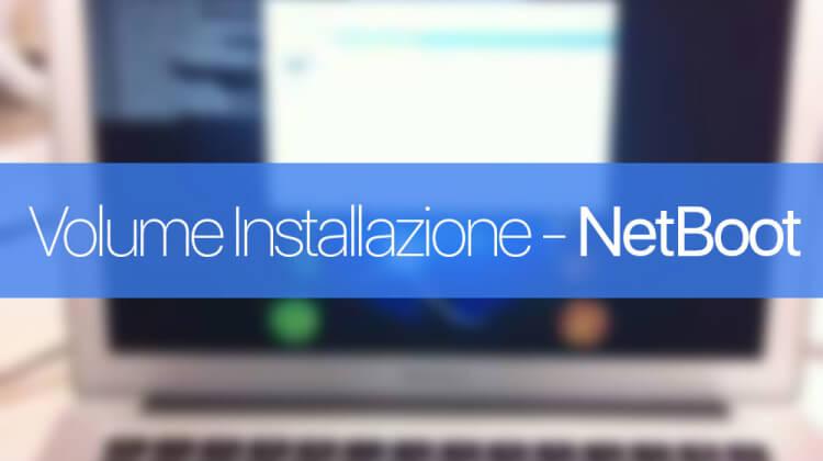 Creare Immagine installazione OS X dalla rete