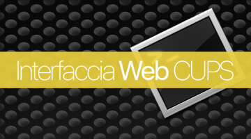 Attivare interfaccia web CUPS di stampa su Mac OS X