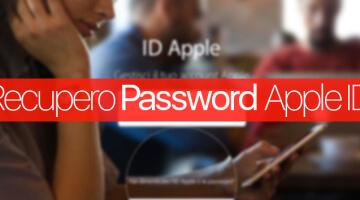 Recuperare la password Apple ID e iCloud