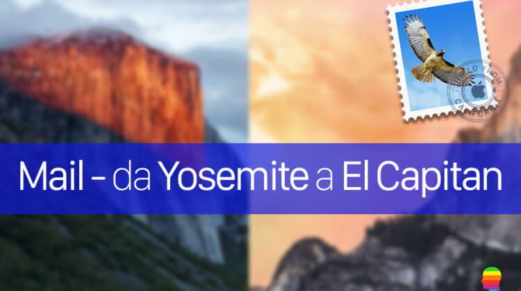 Esportare manualmente la posta di Mail da Yosemite a El Capitan OS X