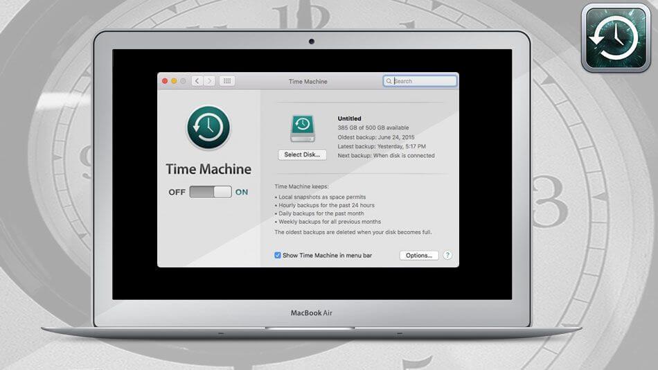time machine sparsebundle