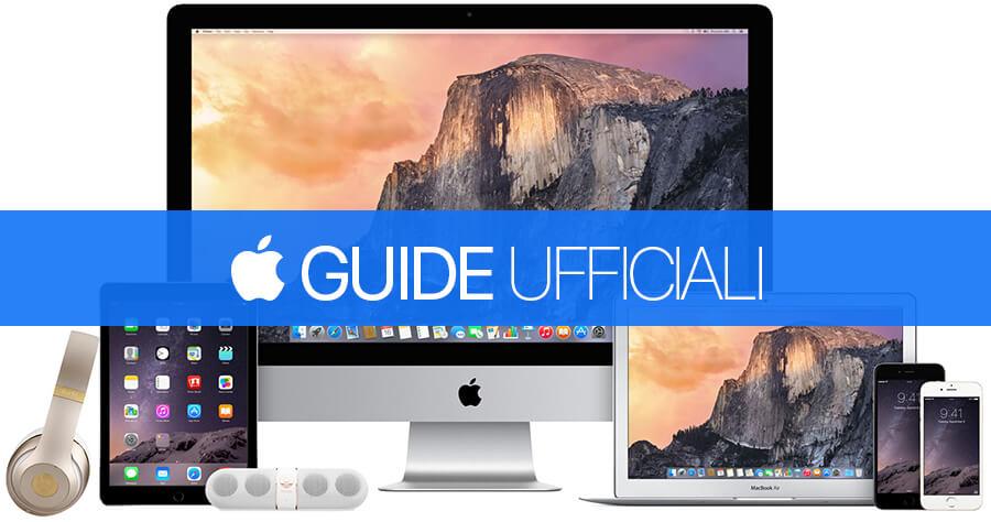 Guide Ufficiali Apple