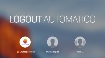 Logout Utente automatico su Mac OS X