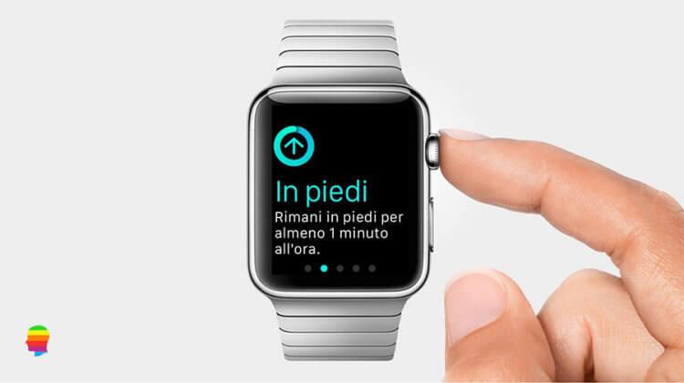 Apple Watch, disattivare o attivare Promemoria In Piedi
