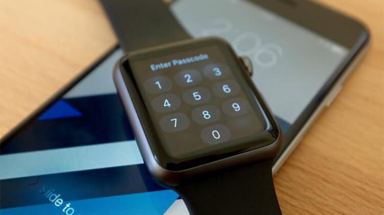 Attivare Codice di blocco su Apple Watch
