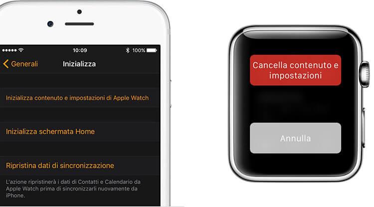 Codice Apple Watch dimenticato