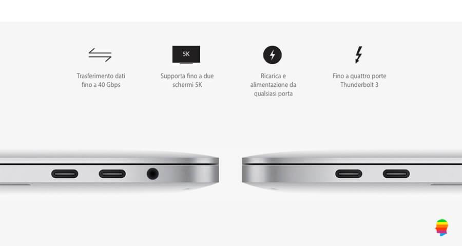 Caricare la Batteria del MacBook Pro 2016 con Touch Bar