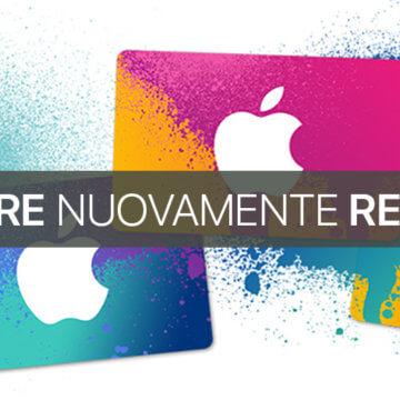 Inviare nuovamente codice Regalo iTunes App Store