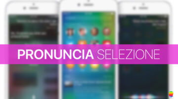 iOS 10, Correggere pronuncia lettura vocale su iPhone e iPad