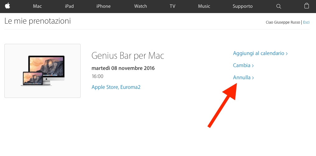 annullare-appuntamento-genius-bar