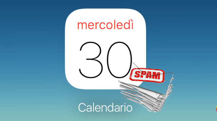 Cancellare spam calendario iCloud su iPhone e Mac OS