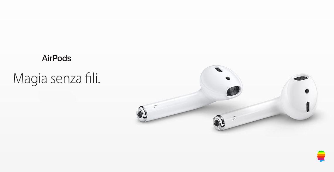 Collegare, associare AirPods con iPhone e iPad