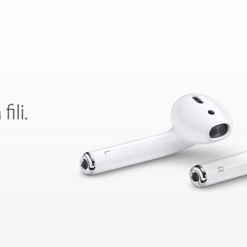 Collegare, associare AirPods con iPhone e iPad