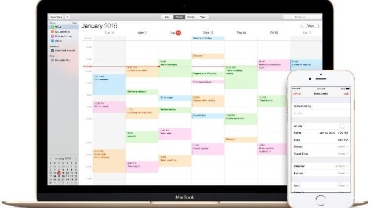 Condividere Calendario iCloud con altre persone