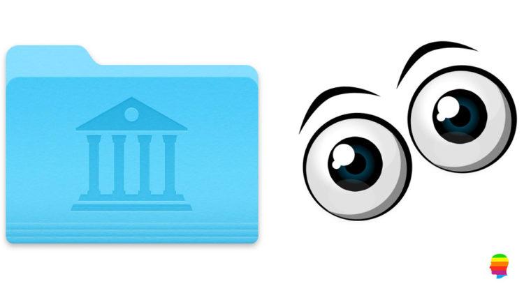 Rendere sempre visibile la cartella Libreria su mac OS
