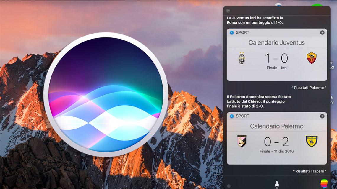 Aggiungere Risultati Sportivi al Centro Notifiche mac OS