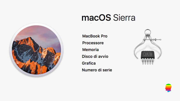 Informazioni e caratteristiche del Mac
