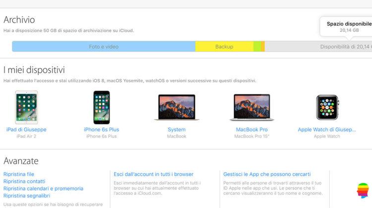 Recuperare File cancellati da iCloud su mac OS, iPhone e iPad