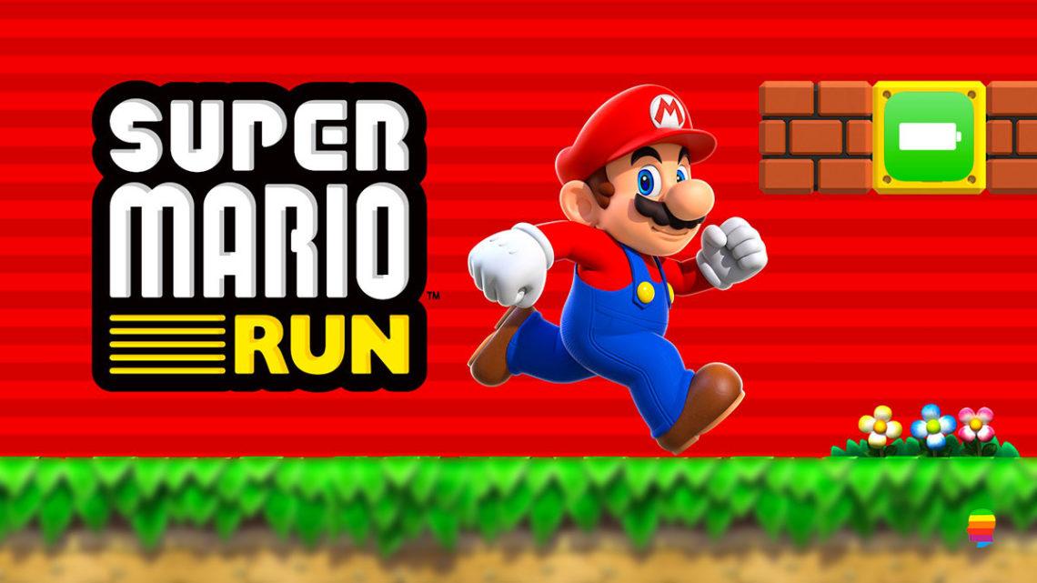 Super Mario Run, Risparmiare batteria su iPhone e iPad