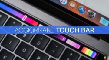 Aggiornare, ricaricare manualmente Touch Bar su MacBook Pro