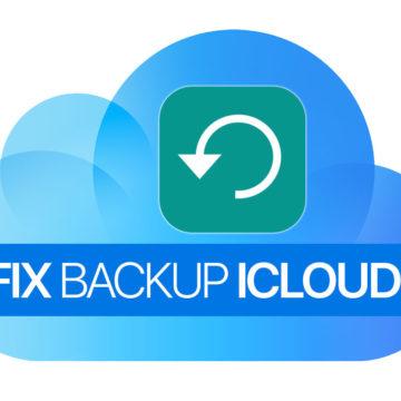 Correggere Errore Backup iCloud su iPhone e iPad