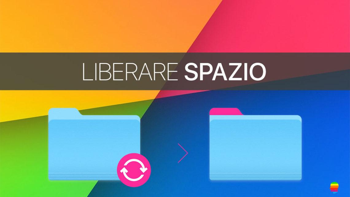Liberare spazio su Mac OS