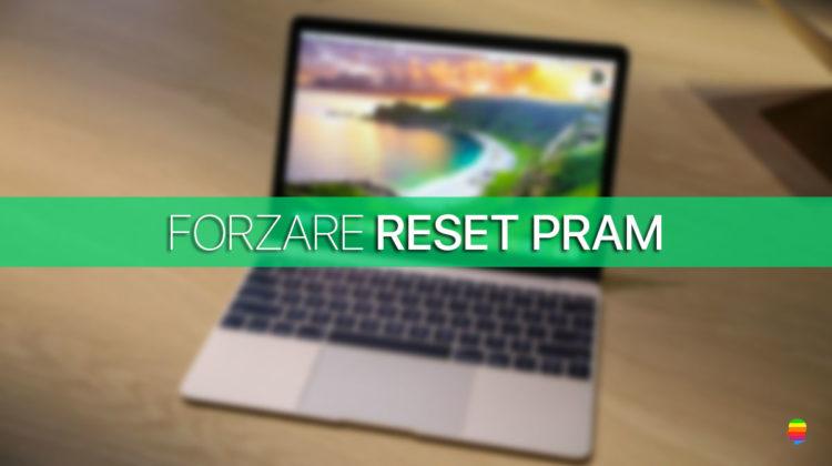 Mac non esegue reset della PRAM