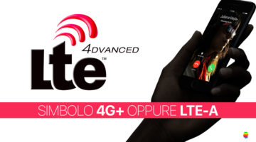 Simbolo 4G + oppure LTE-A su iPhone 6s e iPhone 7 (LTE Advanced)