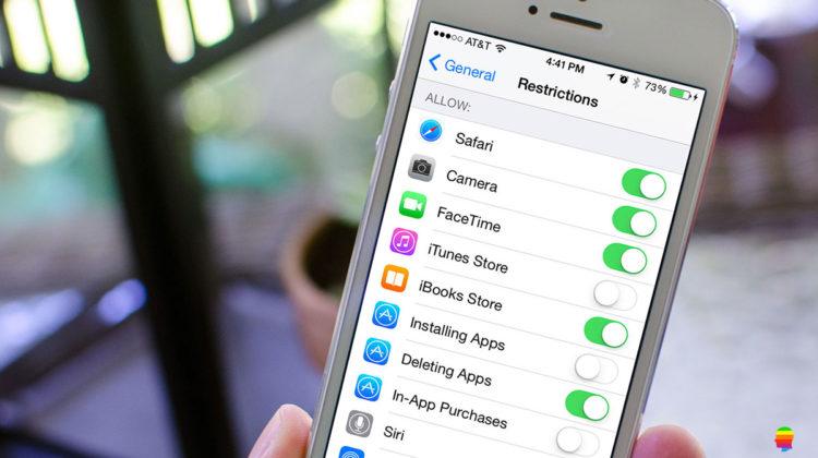 Codice Restrizioni dimenticato su iPad e iPhone