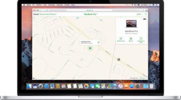 Attivare Trova il mio Mac su macOS
