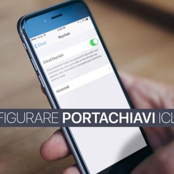 Configurare Portachiavi iCloud su iPhone o iPad