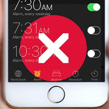 La sveglia dell'iPhone non suona, soluzione!