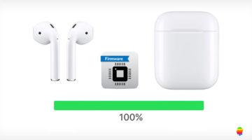 Aggiornare AirPods Apple
